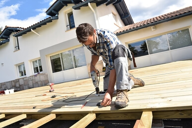 decking fitter and deck builder in Sheffield